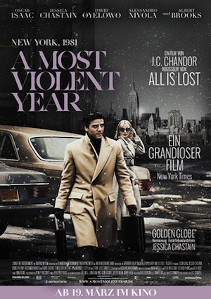 Filmplakat A Most Violant Year