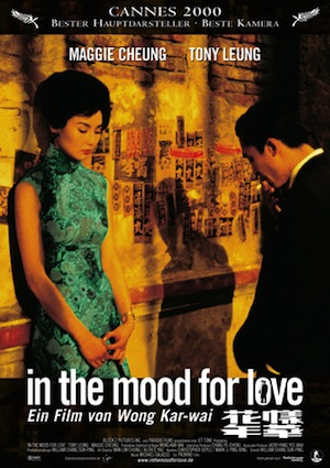 Beste Gute Filme: Filmplakat In the Mood for Love