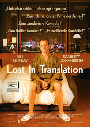 Filmplakat Lost in Translation