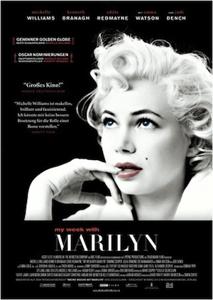 Beste Gute Filme: Filmplakat My Week with Marylin