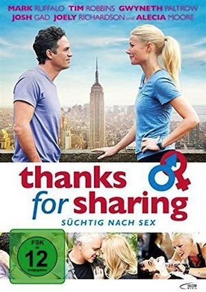 Beste Gute Filme: Filmplakat Thanks for Sharing