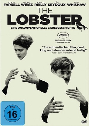 Beste Gute Filme: Filmplakat The Lobster
