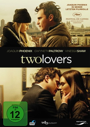Beste Gute Filme: Filmplakat Two Lovers