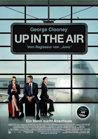 Beste Gute Filme: Filmplakat Up in the Air