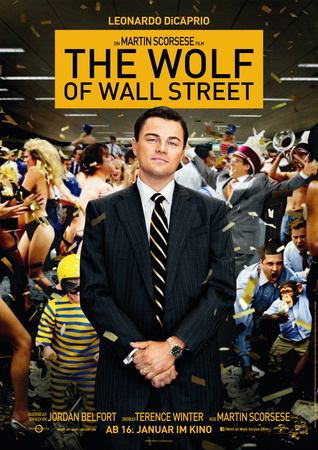 Filmplakat Wof of Wallstreet