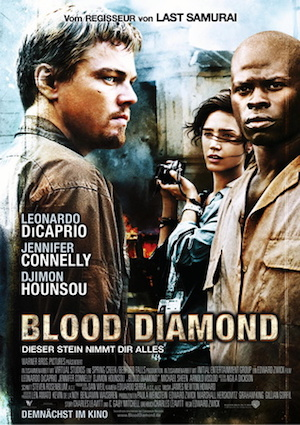 Filmplakat Blood Diamond