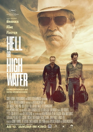 Beste Gute Filme: Filmplakat Hell or High Water