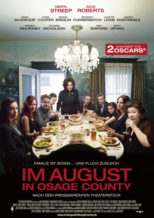 Filmplakat Im August in Osage County