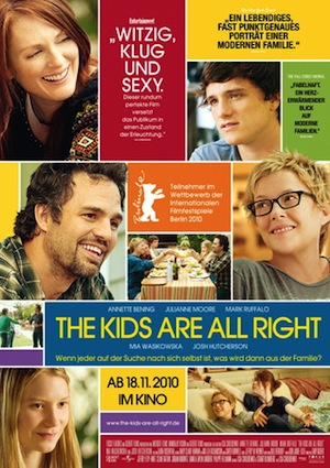 Beste Gute Filme: Filmplakat The Kids Are All Right